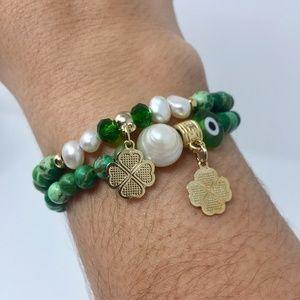 Jewelry - Four-Leaf Clover Charm Bracelet - PRICE FIRM